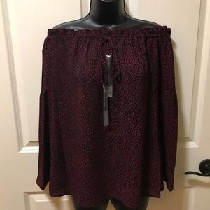 Michael Kors off the shoulder blouse S